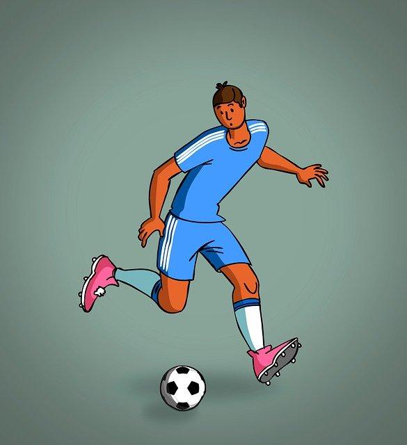 Football Footballer Player  - vgyk13 / Pixabay